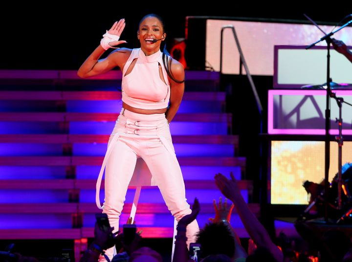 Ciara Performs At WE Day Minnesota at the Xcel Energy Center on Tuesday.