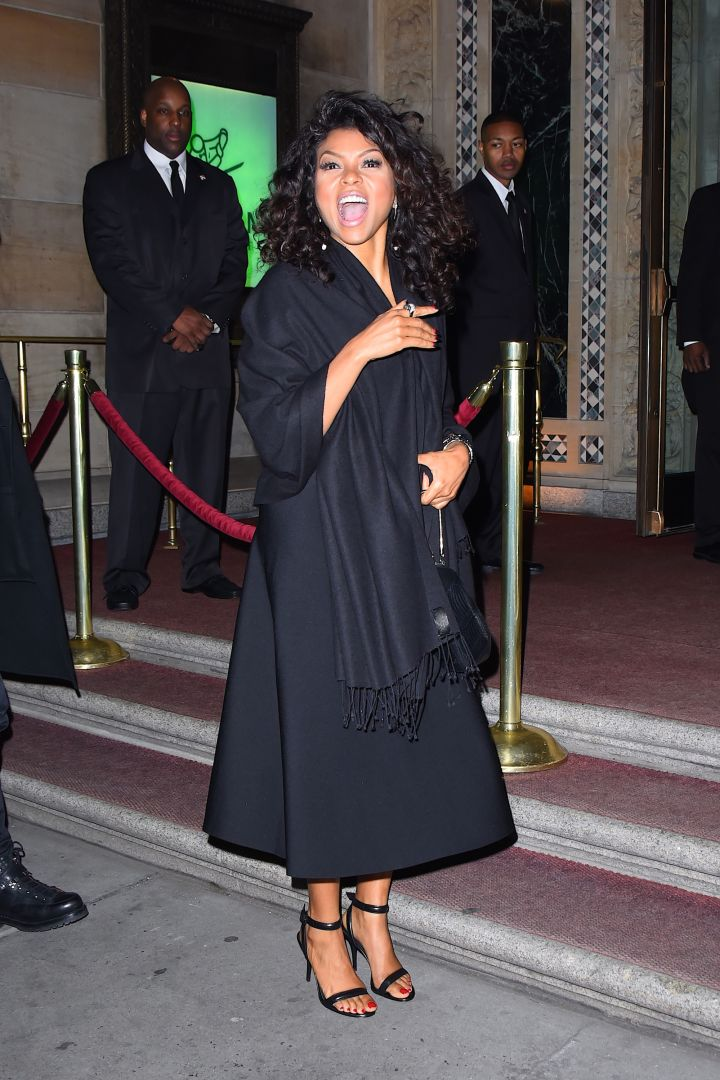 Taraji P. Henson Outside Of The 18th Annual Accessories Council ACE Awards Monday.