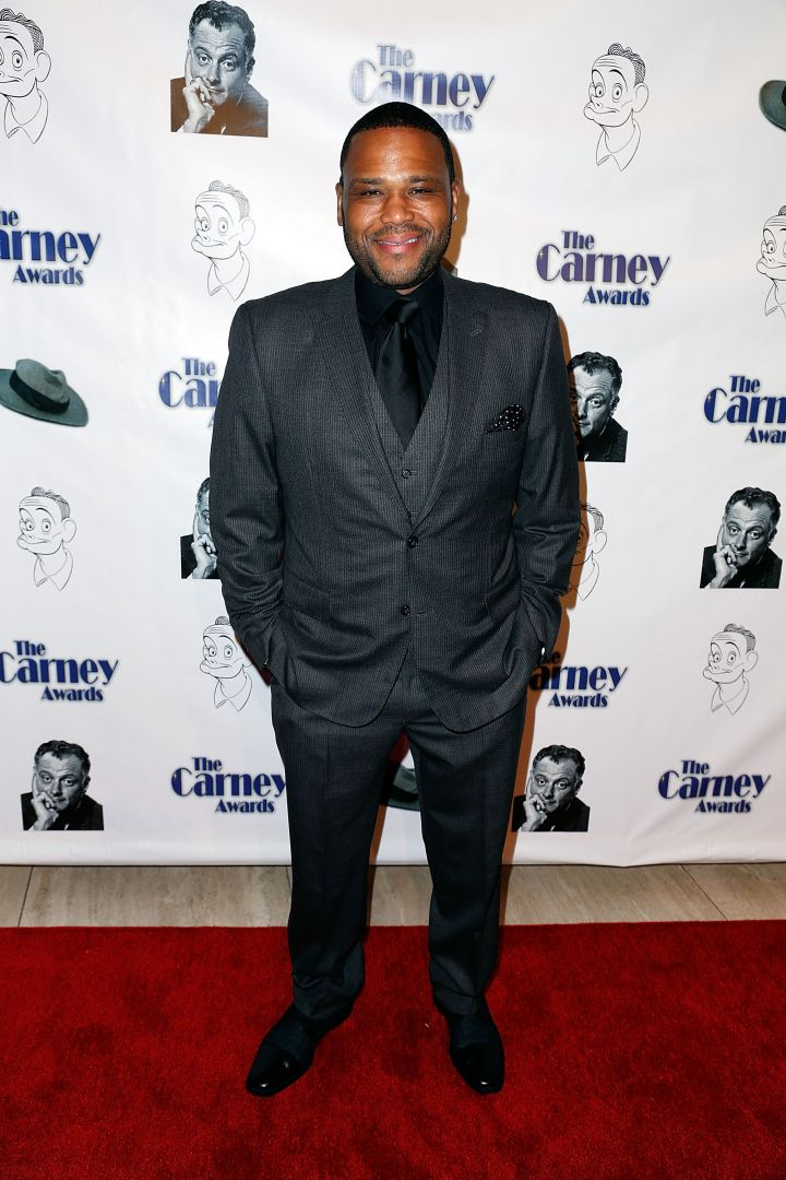 Anthony Anderson Attends The Carney Awards