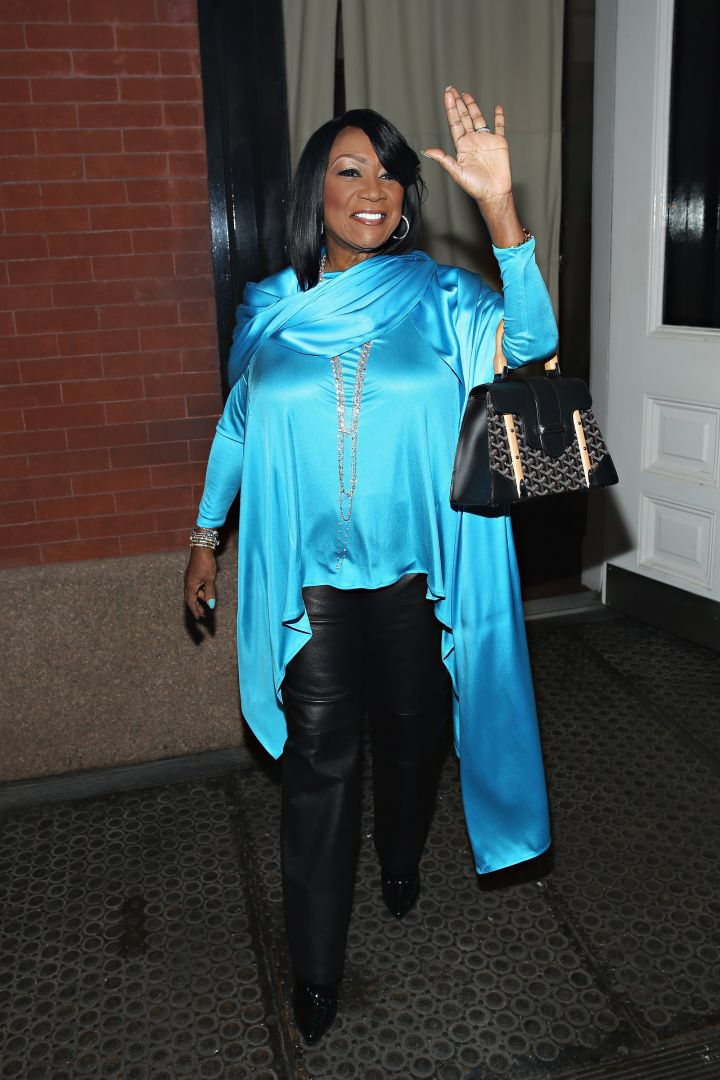 Patti LaBelle Wears Turquoise In Support Of American Lung Association's LUNG FORCE Initiative Wednesday.