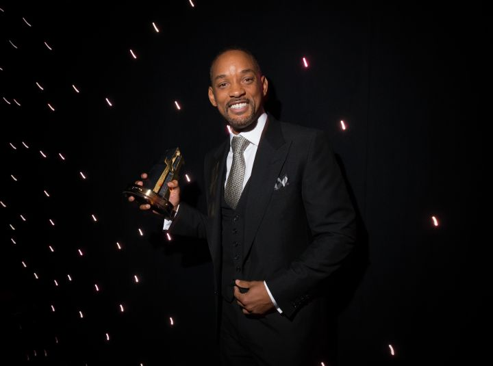 Will Smith Backstage At The 9th Annual Hollywood Film Awards at The Beverly Hilton Hotel Sunday