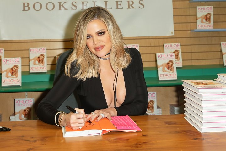 Khloe Kardashian Signs And Discusses Her New Book 'Strong Looks Better Naked'