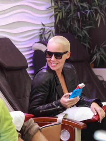 Celebrity Sightings In Los Angeles - November 12, 2015
