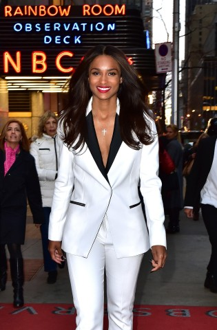 Celebrity Sightings In New York City - November 11, 2015