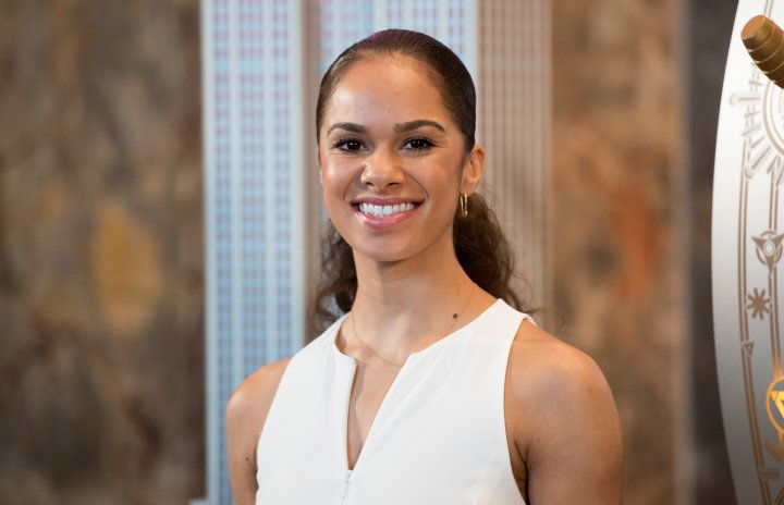 Misty Copeland And Cindi Levine Light The Empire State Building Pink In Celebration Of Glamour's Girl Project