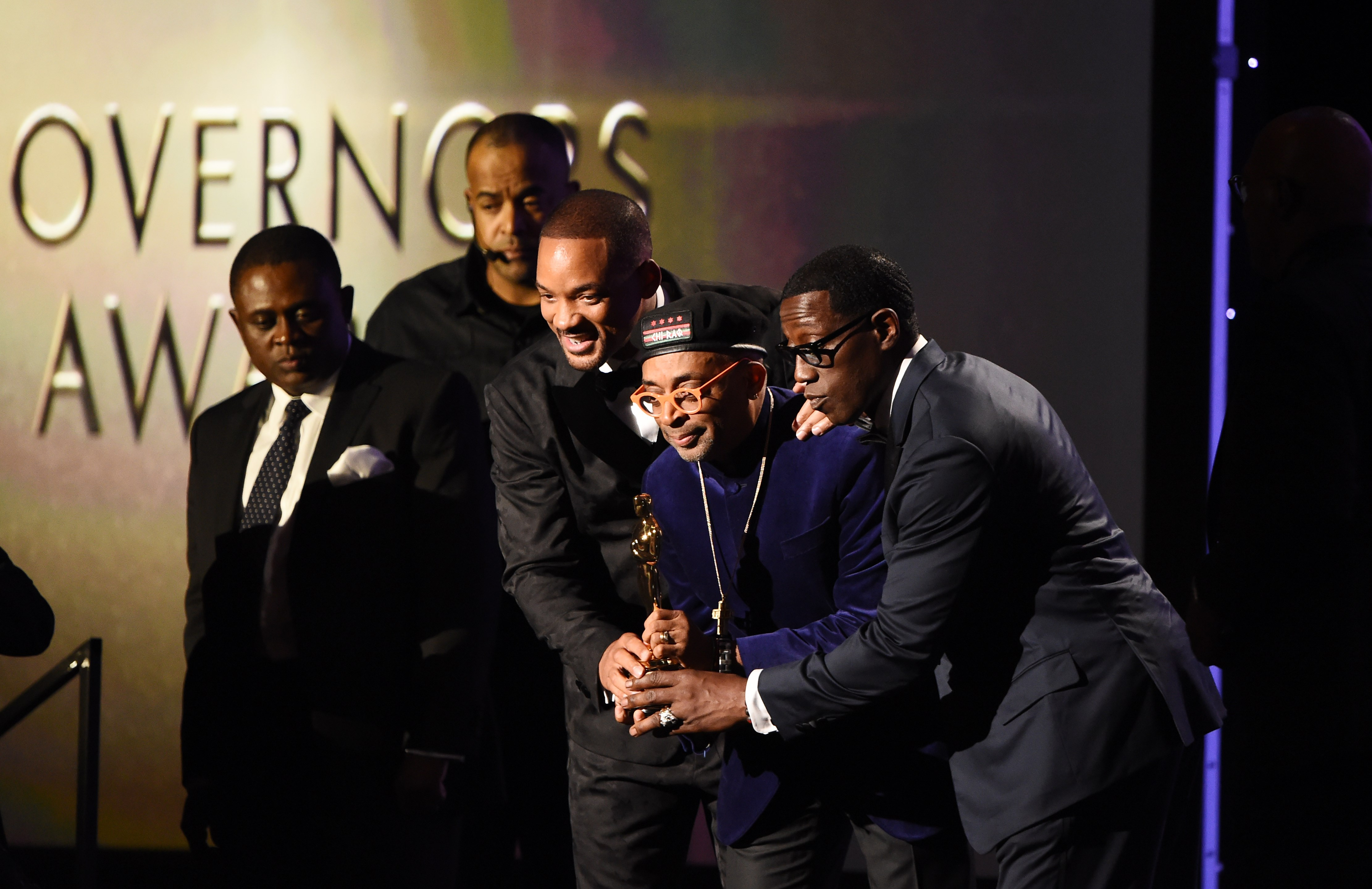 US-ENTERTAINMENT-GOVERNORS-AWARDS