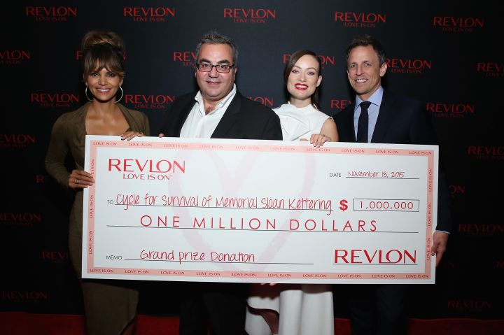 Halle Berry, Olivia Wilde, Lorenzo Delpani, & Seth Meyers