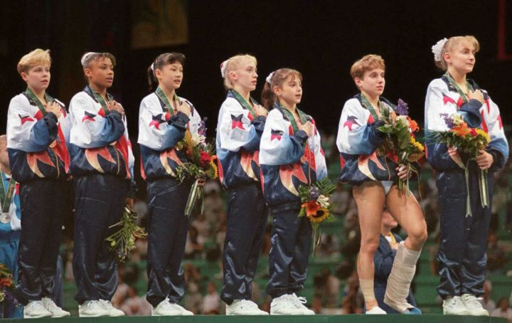 When The US Olympic Team Won Gold At The '96 Olympics