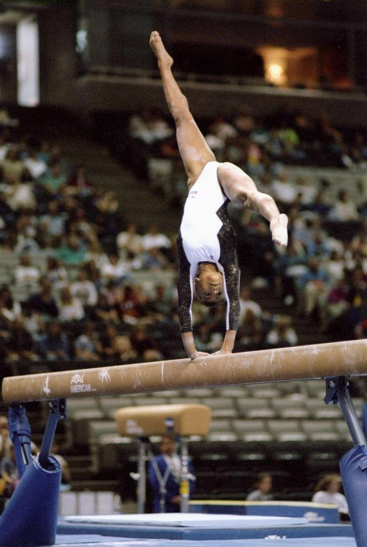 At The Budget Gymnastics Invitational