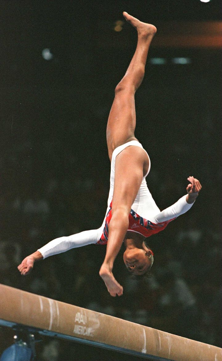 """When She Earned A Spot On The 1996 US Women""""s Gymnastics Olympic Team"""