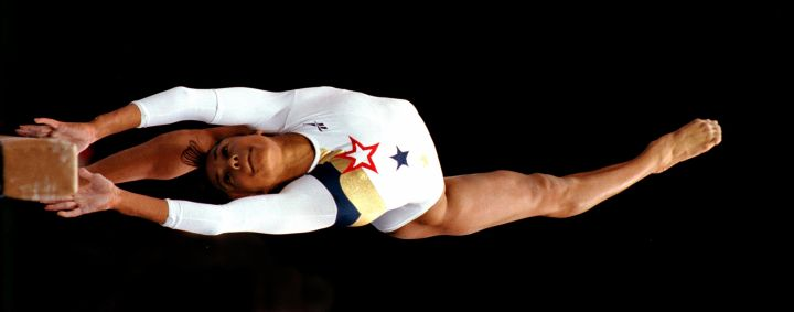 Performing This Breathtaking Routine On The Beam