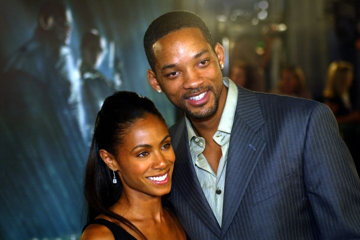 (Los Angeles, CA) (10/27/03) Jada Pinkett Smith and Will Smith are photographed on the red carpet at