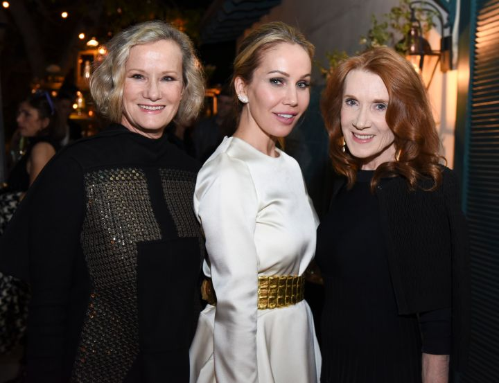 Actress Anne Crawford, Brooke Davenport and Editor Linda Bruckheimer attend the first annual Variety & WWD StyleMakers luncheon presented by Smashbox Cosmetics