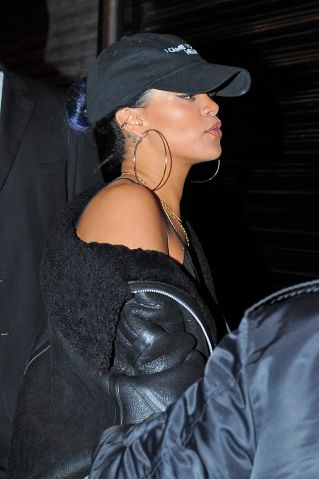 Celebrity Sightings In New York City - November 19, 2015