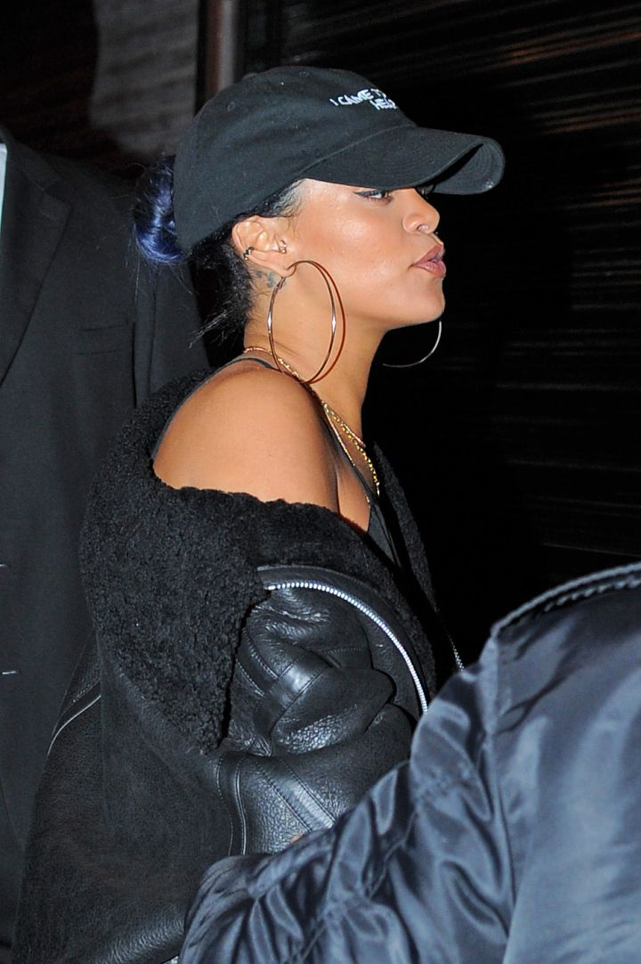 Rihanna On The Scene