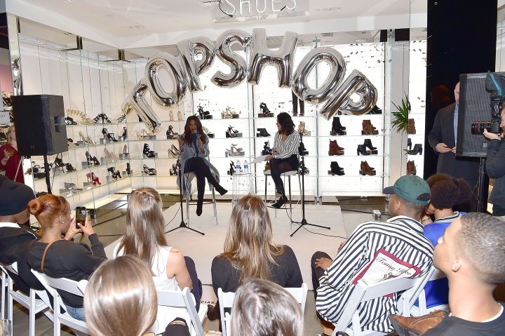 Topshop & Ciara Celebrate The Holiday Season At Their Atlanta Store In Lenox Square Mall