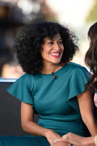 Jay Leno, Harry Connick Jr., Tracee Ellis Ross And Andre Royo On 'Extra'