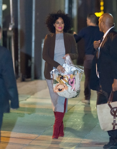 Celebrity Sightings In Los Angeles - November 16, 2015