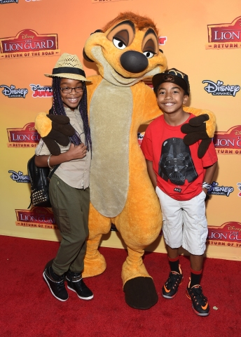 Premiere Of Disney Channel's 'The Lion Guard: Return Of The Roar' - Arrivals