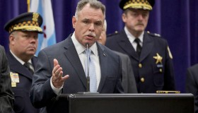 Chicago Police Superintendent Holds News Conference Day After Multiple Shootings In City