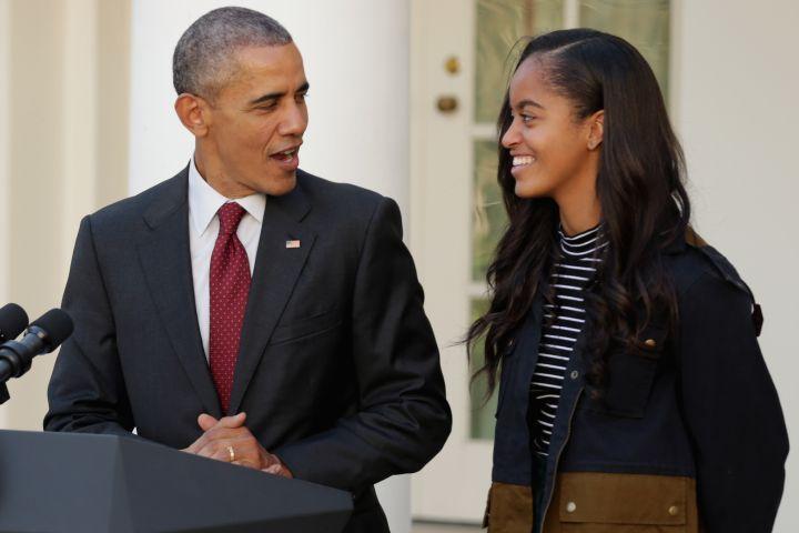 Obama & Malia