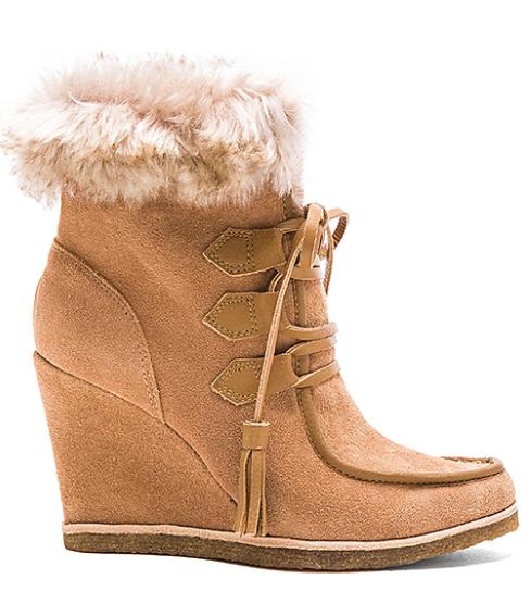Revolve Faux Fur Boots