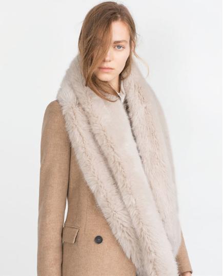 Zara Faux Fur