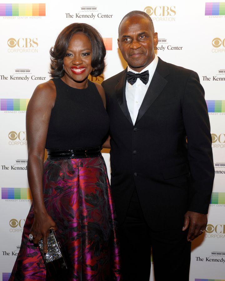 Viola Davis with her husband Julius Tennon