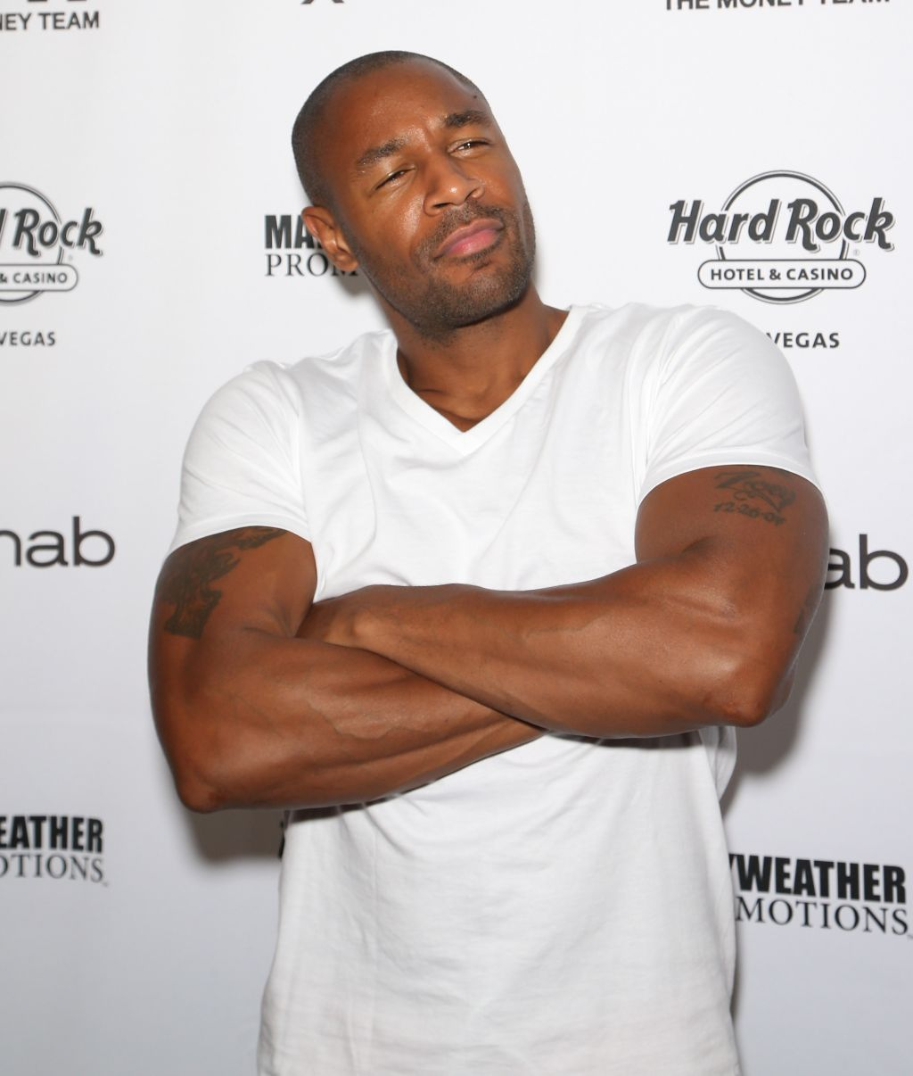 Floyd Mayweather Jr. At Rehab