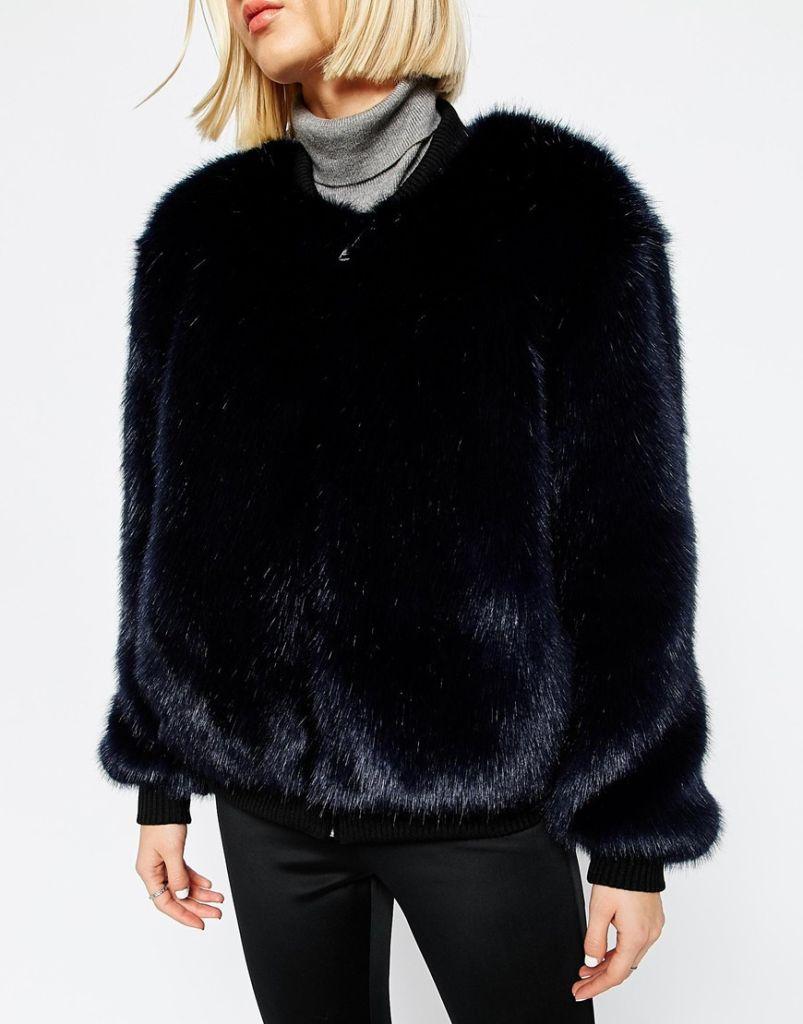 Asos Fur Bomber