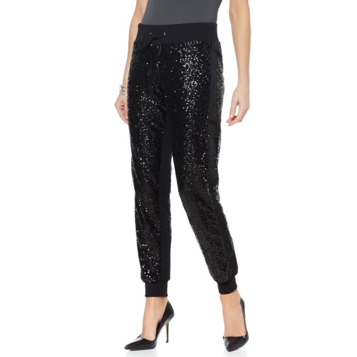 Wendy Williams Sequin Jogger Pant- $90
