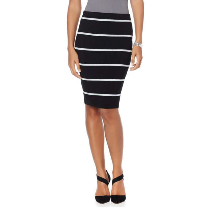 Wendy Williams Striped Pencil Skirt- $59.90