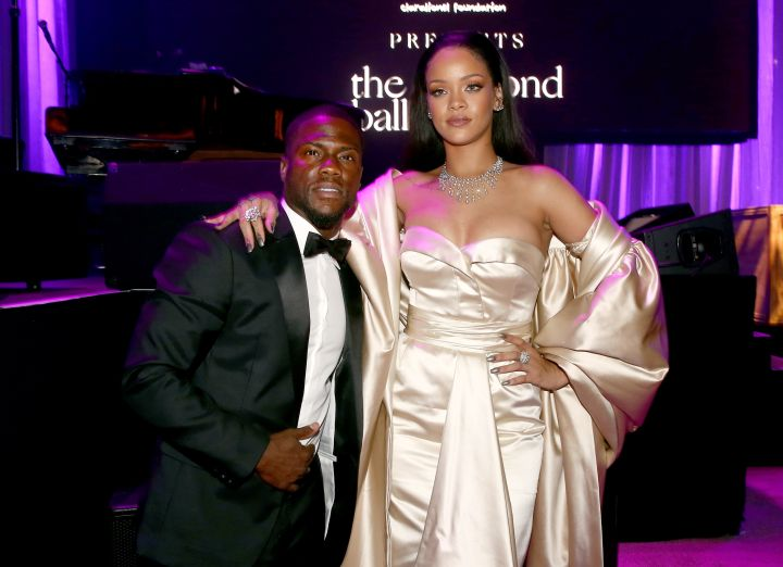 Kevin Hart and Rihanna