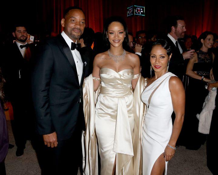 Will Smith, Rihanna & Jada Pinkett Smith