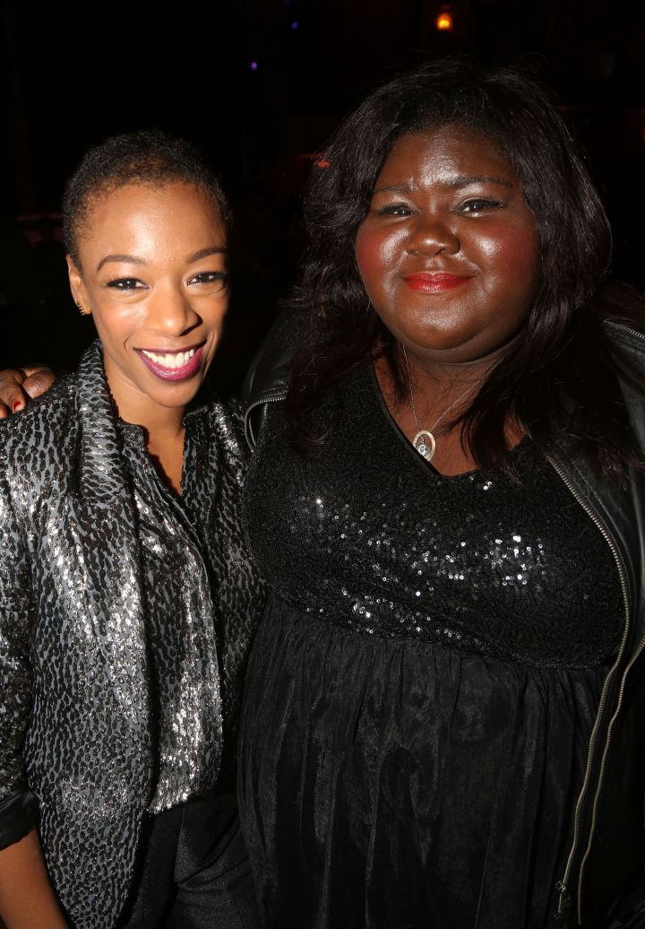 Samira Wiley and Gabrielle Sidibe