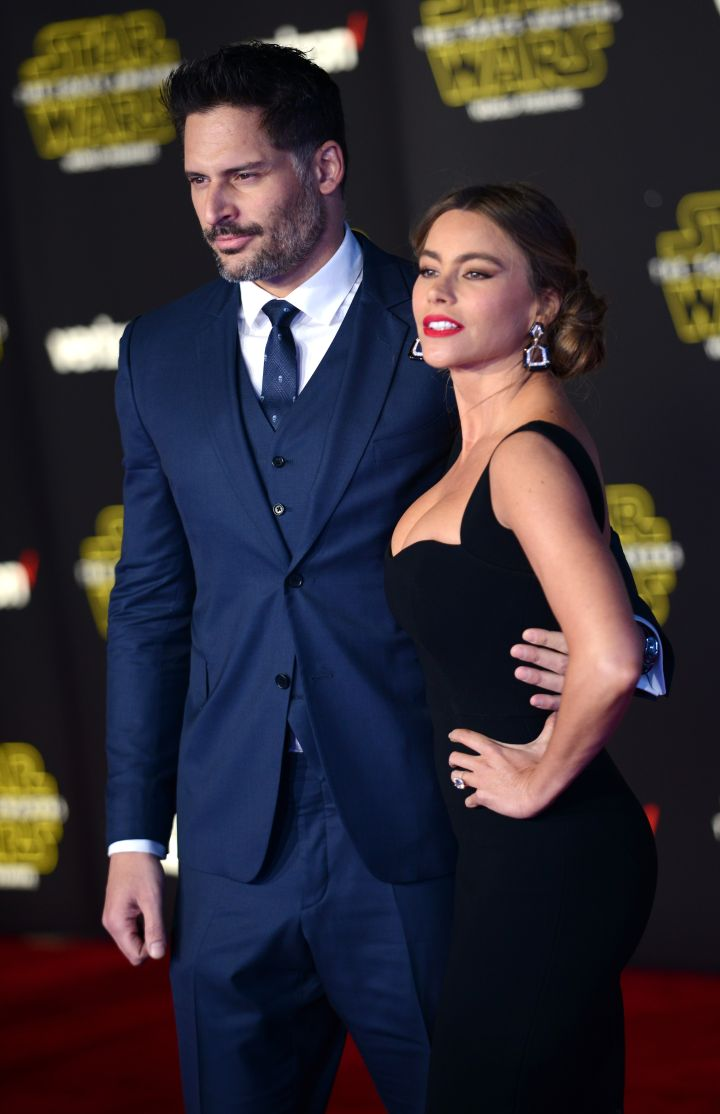 Actor Joe Manganiello and wife/actress Sofia Vergara