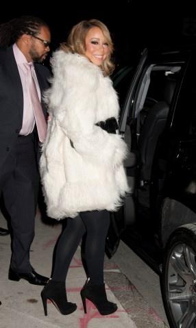 Celebrity Sightings In New York City - December 18, 2015