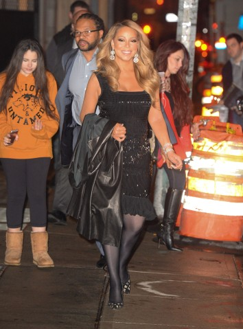 Celebrity Sightings In New York City - December 17, 2015