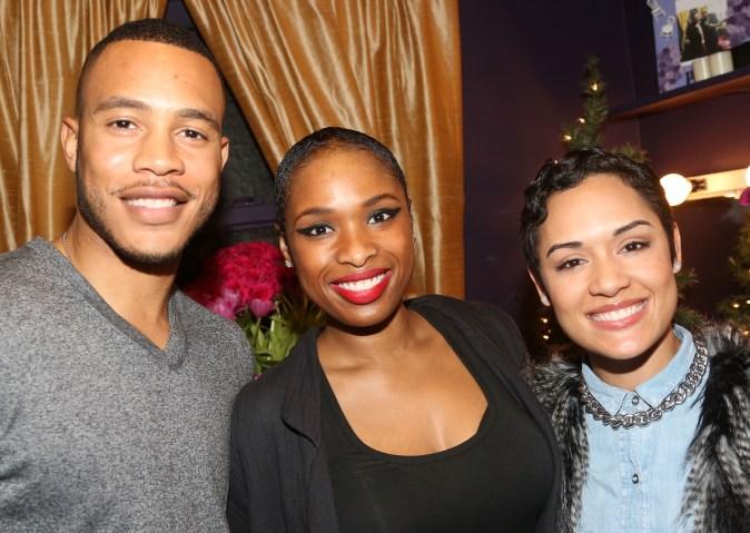 Celebrities Visit Broadway - December 13, 2015