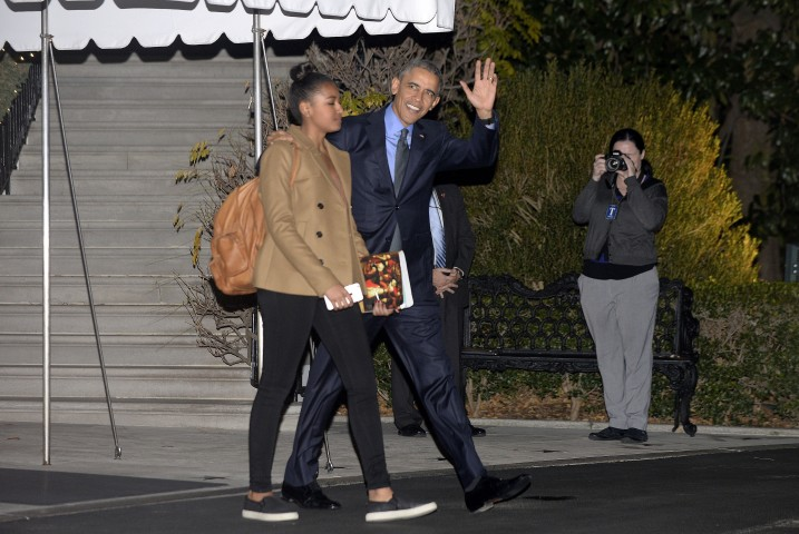 First Family Departs White House for Hawaii Holiday Vacation