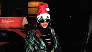 Celebrity Sightings In New York City - December 14, 2015