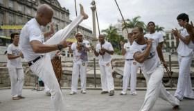BRAZIL-UNESCO-CAIS DO VALONGO-CAPOEIRA