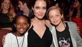 Zahara Marley Jolie-Pitt, Angelina Jolie & Shiloh Nouvel Jolie-Pitt