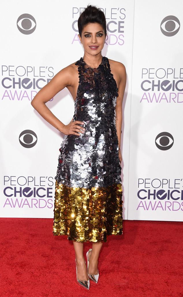Priyanka Chopra at the 2016 People's Choice Awards