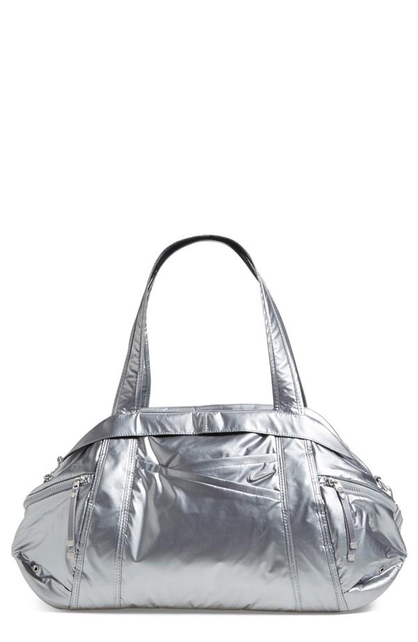 Metallic Gym Bag