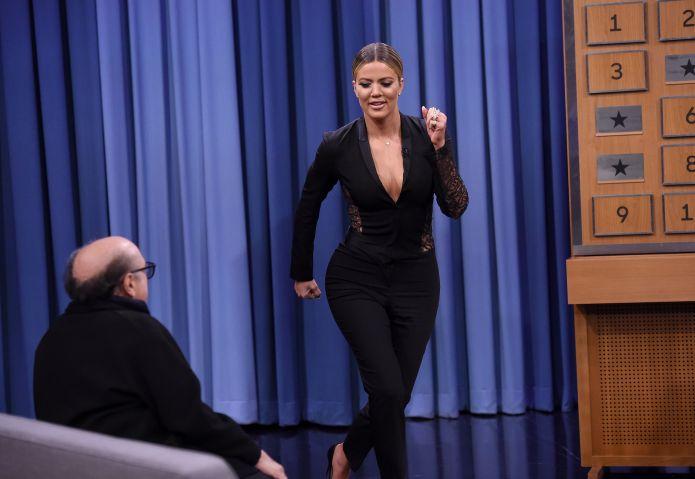 Danny DeVito and Khloe Kardashian Visit 'The Tonight Show Starring Jimmy Fallon'