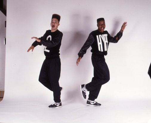 'Kid n' Play' 2 Hype Album Cover Portrait Session
