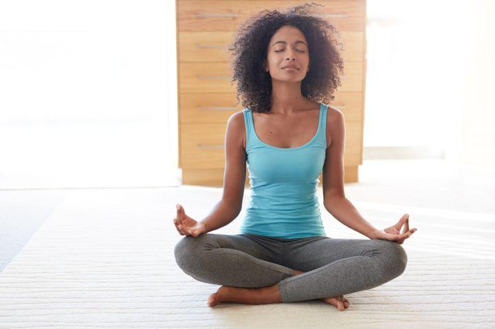 Meditation- her wellness secret