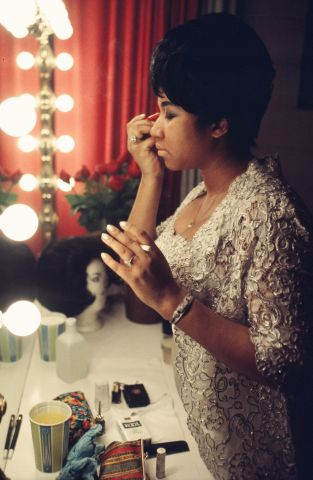 Aretha Franklin performs at Symphony Hall