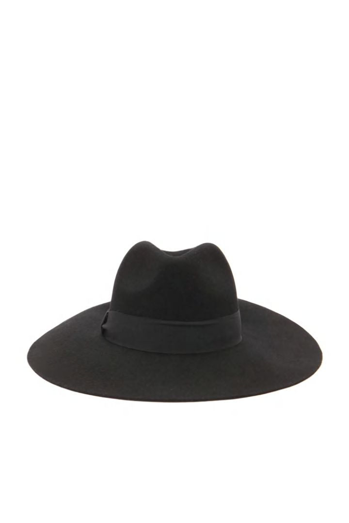 Try out a wide-brim fedora.